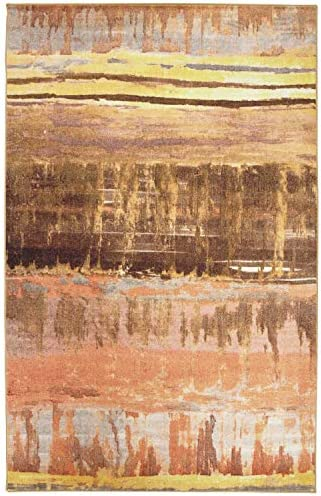 Mohawk Home Mixed Media Blush Area Rug, 8 x10 ,