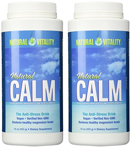- Natural Vitality Natural Magnesium Calm (2 Bottles of 16 Ounce)