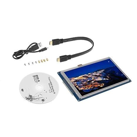 Amazon com: Walfront 7 inch 800x480 TFT LCD Panel Display