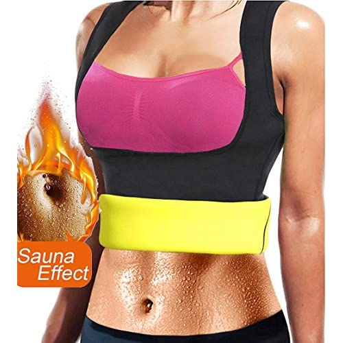 Cheap FIRM ABS Neoprene Sauna Waist Trainer Vest For Weight Loss Hot Sweat Body Shaper Slimming Vest For Women for cheap