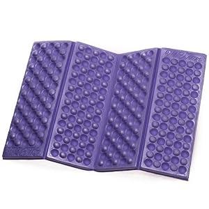 Omeny Outdoor schiuma giardino di campeggio pieghevole sedile impermeabile cuscino per sedia cuscino (viola) 8 spesavip