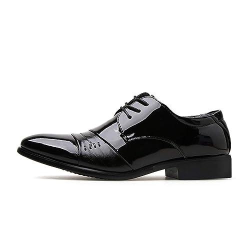 ESAILQ -Zapato Náutico de Piel para Hombre | Zapatos Náuticos Ligeros | Mocasines Cuero |