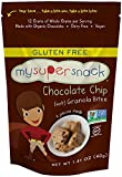 Image of MySuperSnack Soft Granola Bites, Chocolate Chip Soft, 6 - 1.41 Ounce , Box