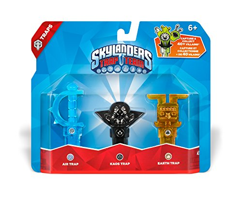 (Skylanders Trap Team: Triple Trap Pack: Air, Kaos,)