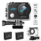 DBPOWER N5 4K Action Camera, 5X Zoom HD - Best Reviews Guide