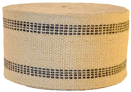 Firefly Craft Upholstery Jute Chair Webbing, 3 1/2 Inches Wide from Firefly Craft