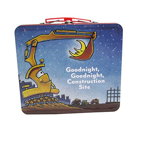 Goodnight Construction Site Tin Lunch Box