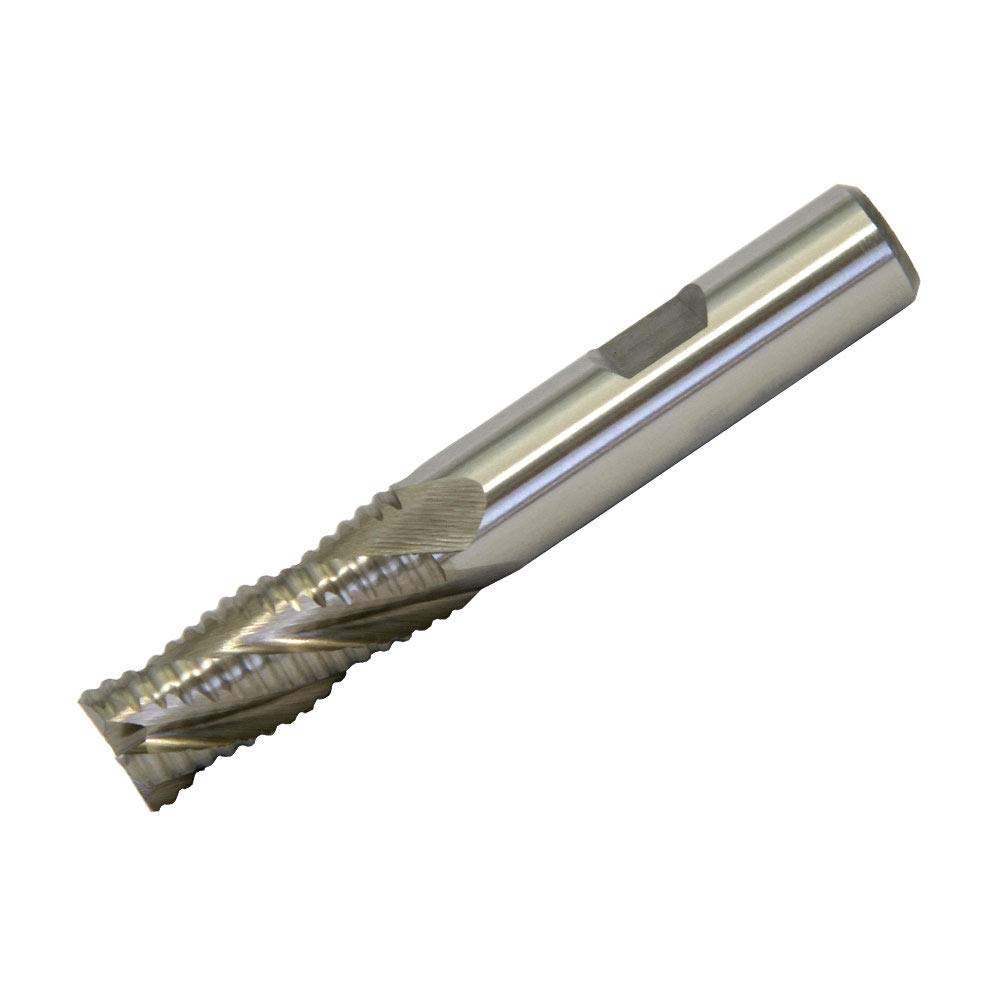 3//8 Cobalt Steel Roughing End Mills Regular Coarse Tooth