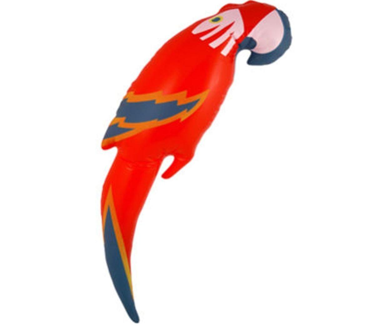 Disfraz hinchable de loro, diseño hawaiano, 48 cm: Amazon.es: Hogar