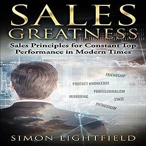 Sales Greatness Audiobook