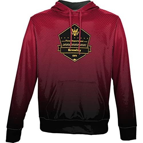 cheap ProSphere Boys' City of Brawley Fire Department Zoom Hoodie Sweatshirt (Apparel)