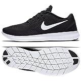 Nike Wmns Free RN 831509-001Black/White/Anthracite Women's Running Shoes (11 B US)