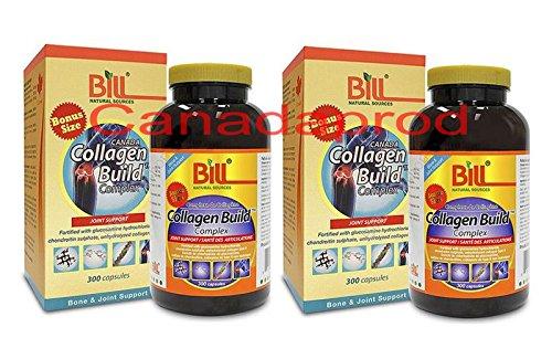 Bill Collagen Build Complex 300capsules x 2(2 bottles)