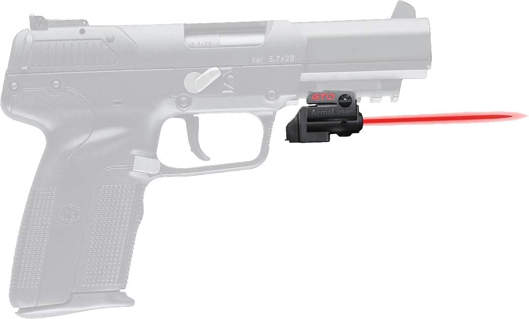Amazon Com Armalaser Designed To Fit Fn Five Seven Gto Red Laser And Flx29 Grip Switch Sports Outdoors