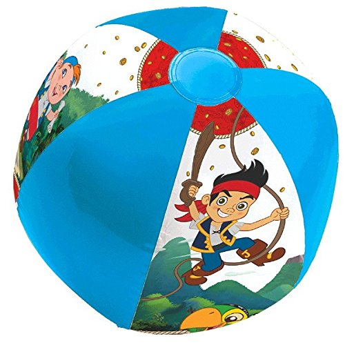 Disney Jake and the Neverland Pirates Inflatable Ball Party Favour Toy and Prize Give away, Vinyl, (Jake And The Neverland Pirates Ball)