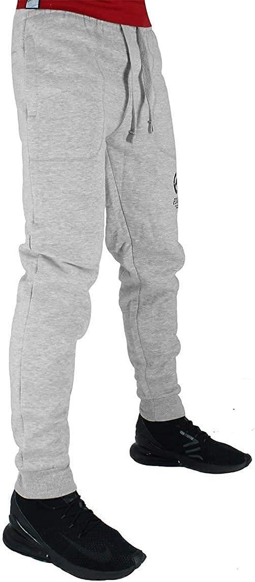 Ropa Activa Ecko Hombre Algodon De Diseno Pantalones Joggers Gris Azul Negro Deportes Y Aire Libre Doorgo Id