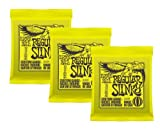 Ernie Ball 2221 Regular Slinky 6-String Electric Guitar Strings 3-Pack