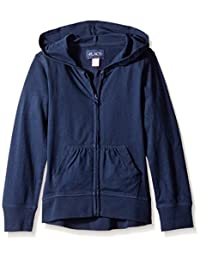 The Children's Place girls Uniform High-low Hoodie