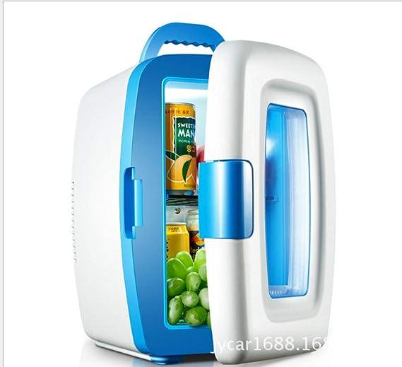 YUNJIE Mini Nevera Refrigerador Eléctrico Y Calentador,Compacto Y Portable Cables De Alimentación Ac Y Dc 100% Freón-libre Y Respetuoso Del Medio Ambiente ...