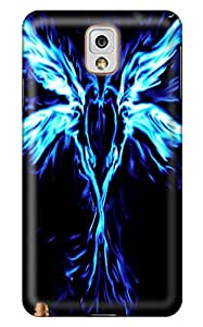 Simply Case Designs Phoenix Blue Heart Design PC Material Hard Case for Samsung Galaxy N9000 Note 3
