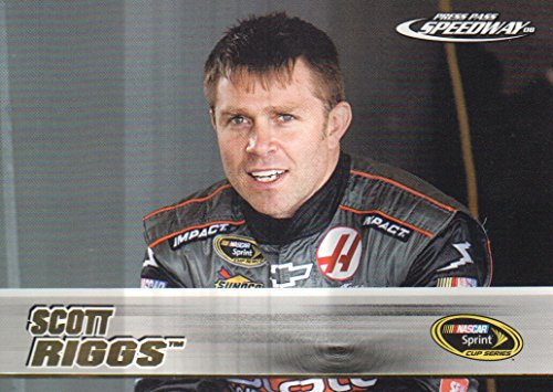 2008 Press Pass Speedway NASCAR Racing Gold #10 Scott Riggs (Scott Riggs Nascar)