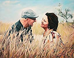 Anniversary Gift - Personalized Portrait From Photo - Custom Fine Art