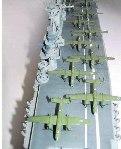 トランペッター 1/350 米海軍 空母 CV-8 ホーネット