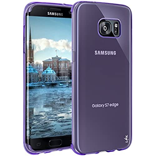 Galaxy S8 Case, LK Ultra [Slim Thin] Scratch Resistant TPU Rubber Soft Skin Silicone Protective Case Cover for Samsung Galaxy S8 (Purple) Sales