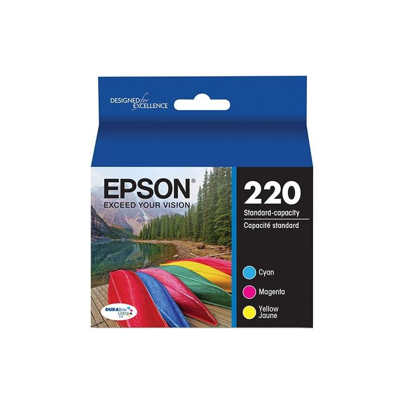 Genuine Epson 220 Color Cartridges Ink G
