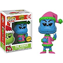 [Patrocinado] El Grinch [Santa] (Chase Edition): Funko POP. Book X DR. Seuss vinilo Figura + 1 American Cartoon temática de Trading Card Bundle (21745)