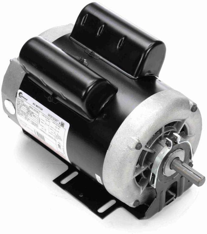 1.5 hp 1725 RPM 56 Frame 115/208-230V 60 hz Belt Drive Cap Start Blower Motor Century # C621