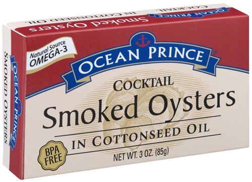 Prince Cocktail Oysters Cottonseed 3 Ounce product image