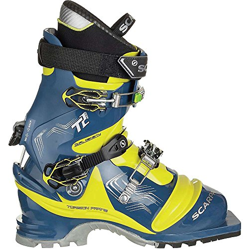Scarpa T2 Eco Boot - Men's True Blue / Acid Green 27.5