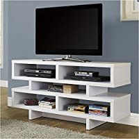 Pemberly Row 48 TV Console in White