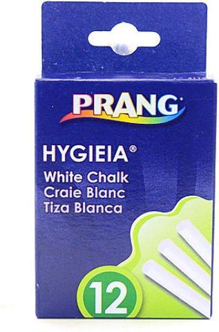 (Prang Hygieia Dustless Board Chalk (White) 9 pcs sku# 1841551MA)