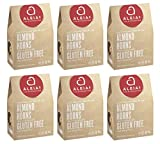 Aleia's Gluten Free Almond Horn Cookies, 9 oz Family Size Box (6 Packs - Best Deal!!!)