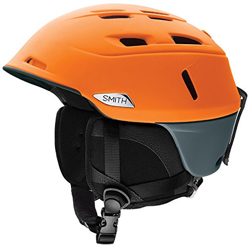 Smith Optics Camber Adult Ski Snowmobile Helmet - Matte Solar ()