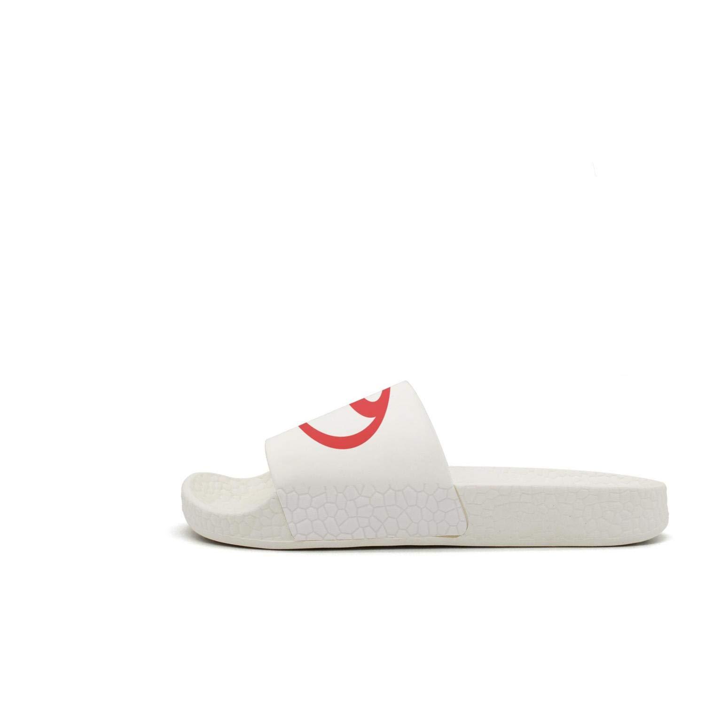 Printed Non-slip slippers slides flip flop sandals Toyota-symbol-red-logo-emblem-summer stylish for mens