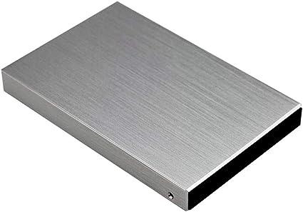 H HILABEE 外付けHDD USB3.0 ハードディスクドライブ 高速 モバイルハードディスク 軽量 ポータブル - 1T