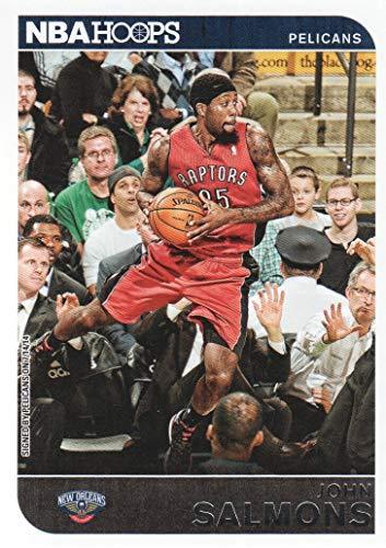 2014-15 NBA Hoops Basketball #122 John Salmons New Orleans Pelicans