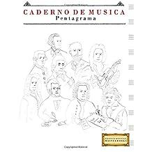 Caderno de Música Pentagrama: (21.59 x 27.94 cm)