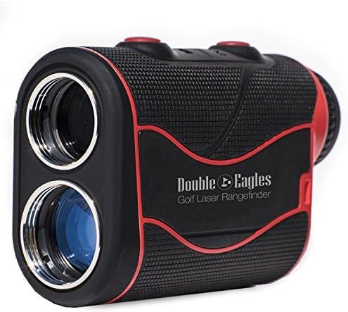 Kozyvacu Double Eagles DEPRO-800 Golf Rangefinder – Laser Range Finder with Pinsensor – Laser Binoculars – Free Battery – Water Proof