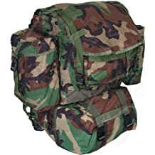 GI Woodland Camo Standard Backpack MOLLE II w/ Sustainment Pouches