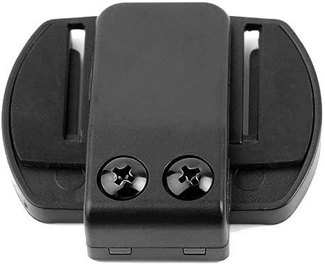 V6 Interphone Auricolare universale Casco citofono Clip per moto Bluetooth Microfono Altoparlante Cuffia V4