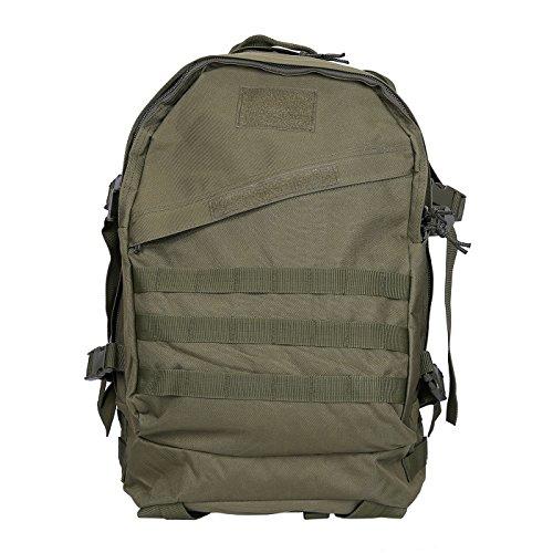 HDE-Mochila tipo táctico militar heavy duty de 30 L, Hombre, Marrone - Marrone chiaro verde militar
