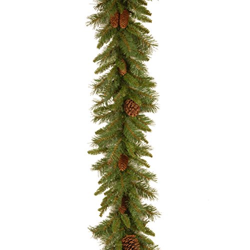 (National Tree 9 Foot by 10 Inch Pine Cone Garland)