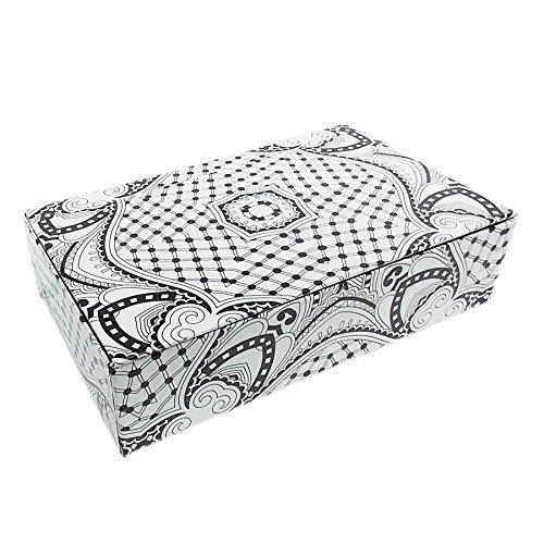 Paperboard Box Files - Aurora Illustrator Adult Coloring Pencil/Storage Box, 8.56