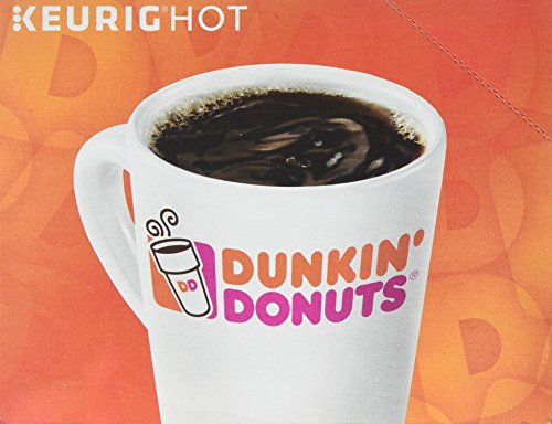 Large Product Image of Dunkin Donuts 0846 K-Cup Pods, Decaf, 24/box