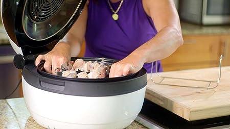 Amazon.com: Molino Health Fryer Kitchen Appliance - Non-Stick Teflon Base, Self-Cleaning - 4kg Food Loading Capacity: Kitchen & Dining