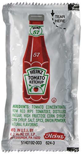 Heinz Single Serve Packages .32 Ounces (Pack of 100) ()